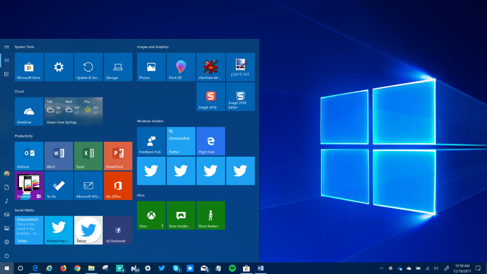 Microsoft Windows 10 training